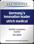 FAK_FAZ-Siegel_Germanys-Innovation-Leader_04-2020_ulrich-medical
